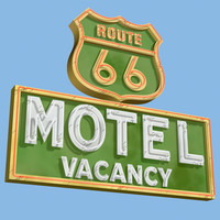 NeonSign_Route66Motel
