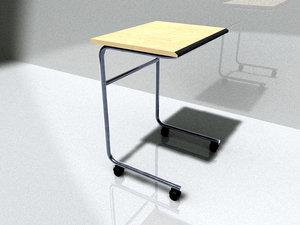 3d model medical sideboard