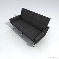 poul kjaerholm pk31 sofa 3d max