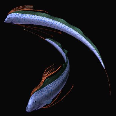 3d model regalecidae ryugunotukai