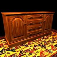 sideboard designs 3d 3ds