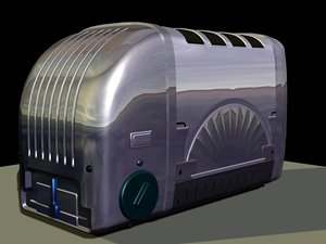 toaster 3d obj