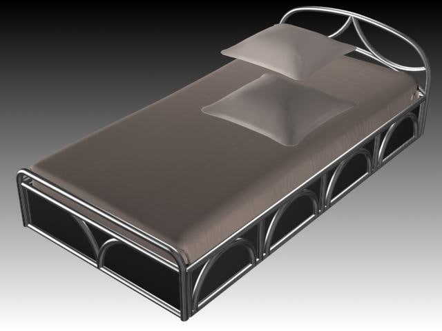 3d bed furniture