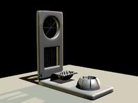 egg slicer 3d model