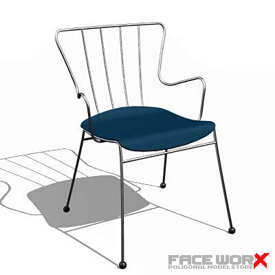 faceworx chair furniture 3d model