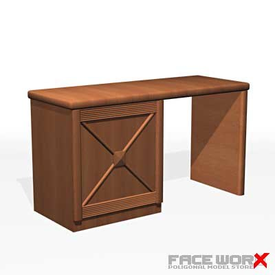desk writing 3d max