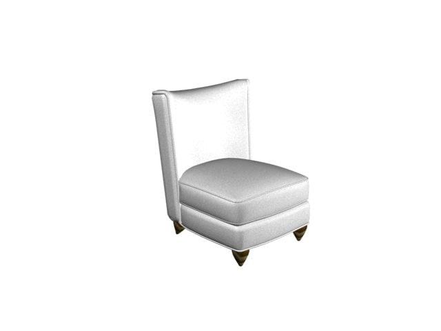 3d stuffed chair