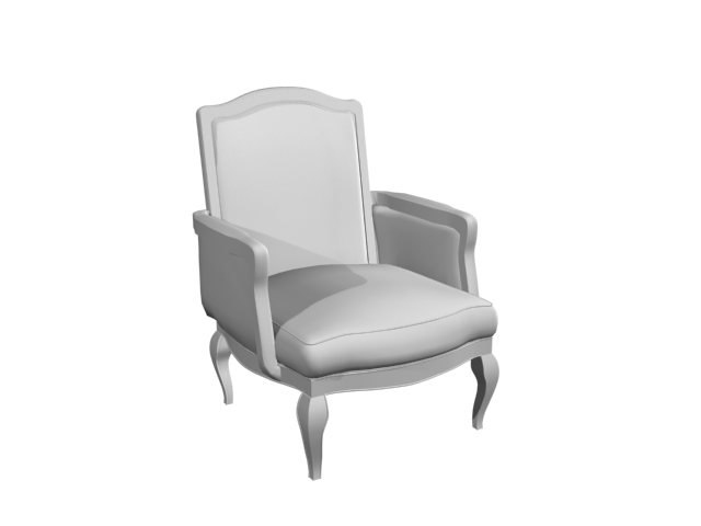 chair library 3d model