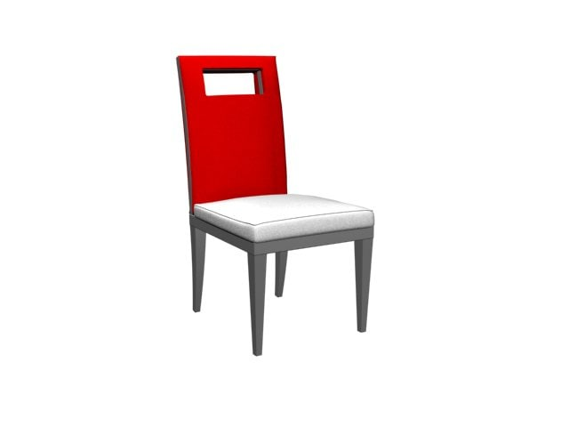 modern dining room chair 3d max