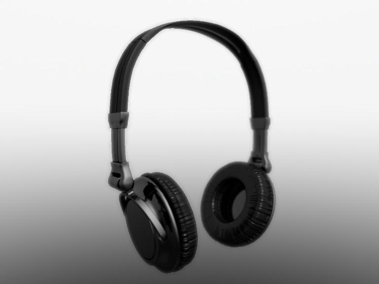 stereo headphones 3d model