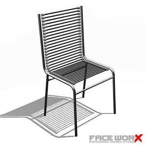 3d faceworx chair