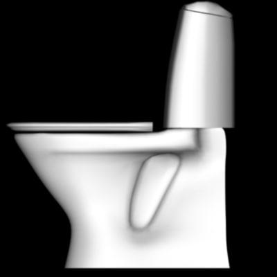 toilet furniture 3d model