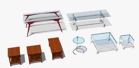 3dsmax table