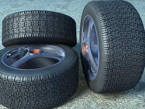 free tire 3d model