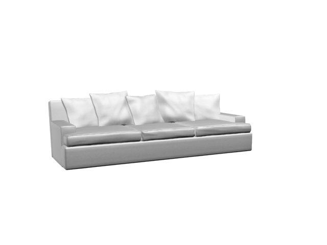 3d sofa pillows cushions