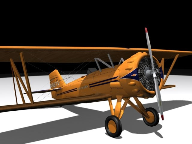 3d model curtiss gulfhawk