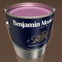 3d benjamin paint model