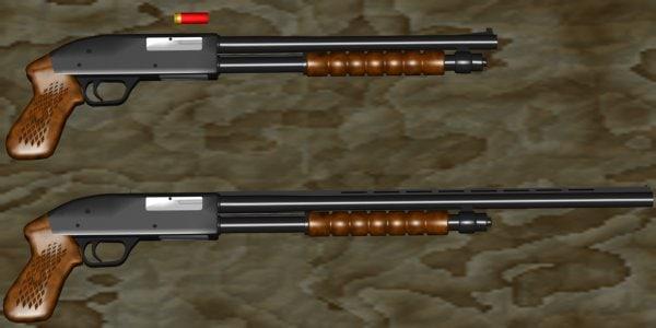 weapon gun shotgun max