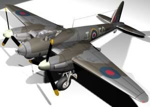 3ds havilland mosquito