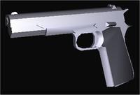 3dsmax colt 45 pistol