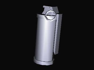 3ds max grenade