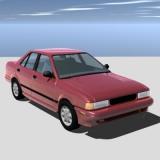 1994 nissan sentra 3d model