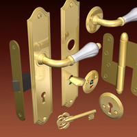 handle latch 3d model