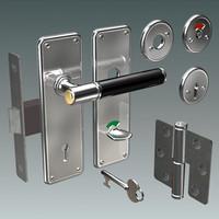 handle lock 3d model