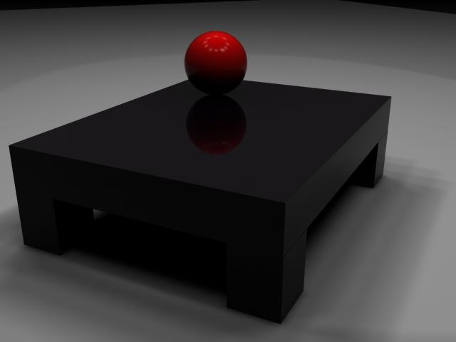 70 table 3d max