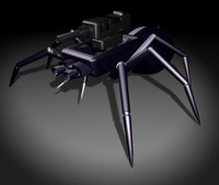WSH Robot Spider 3ds