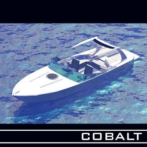 3d 3ds cobalt boats sea