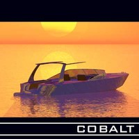 3d model cobalt boats
