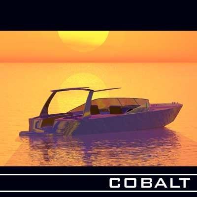 3d model cobalt boats