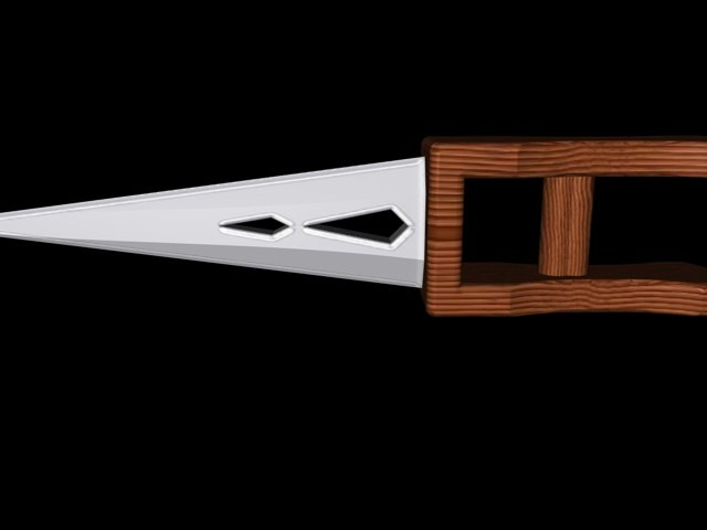 free punch dagger 3d model