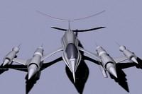 3d fighter jet plane model