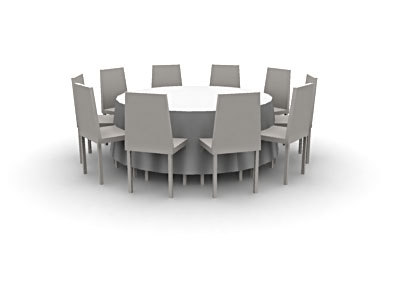 events props table chairs cob