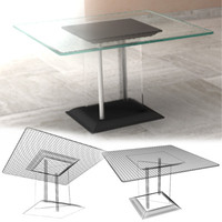 3d coffee table