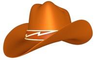 hat cowboy girl 3d model