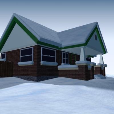 3d model house build