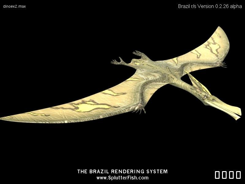 3d giant dinosaurs model