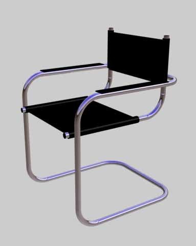 munich chair 3d model