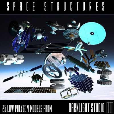 lightwave space structures