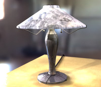 lightwave lamp table scene