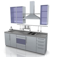 kitchen unit 3d model