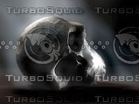 skull monkey 3d 3ds