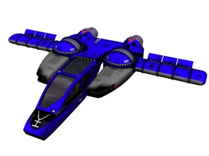 maya space ship
