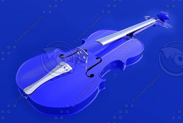 3ds max violin strings
