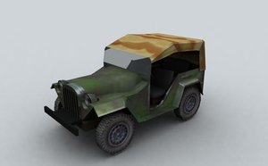 3ds max soviet jeep