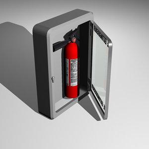 3d extinguisher fire
