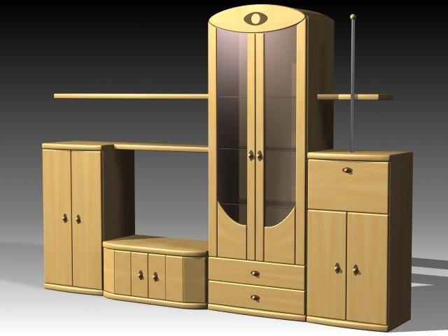 3dsmax furniture cabinet wardrobe